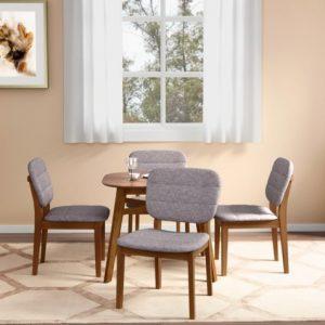 meja makan 4-kursi