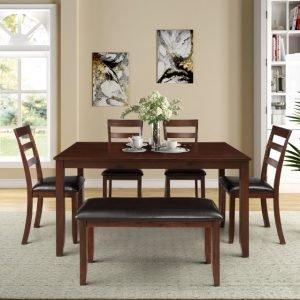 set-meja-makan-modern