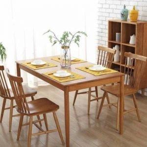 set-meja-makan-kursi-retro-4-kursi